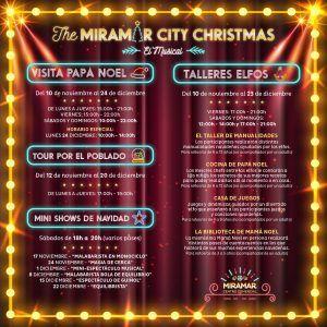 Actividades navideñas gratis para niños en CC Miramar de Fuengirola con Papá Noel y los Reyes Magos