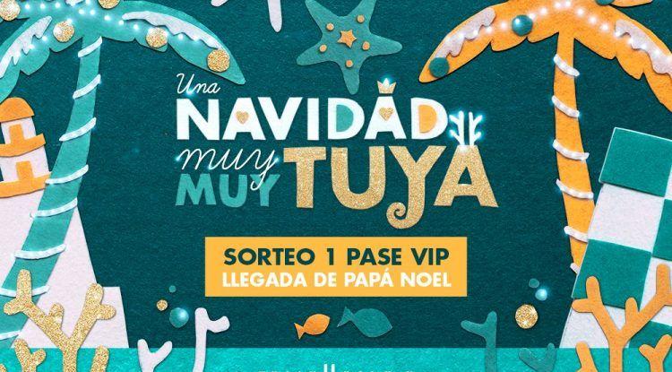 Sorteamos un pase de prensa VIP para que un niño entreviste a Papá Noel en su llegada al Muelle Uno de Málaga