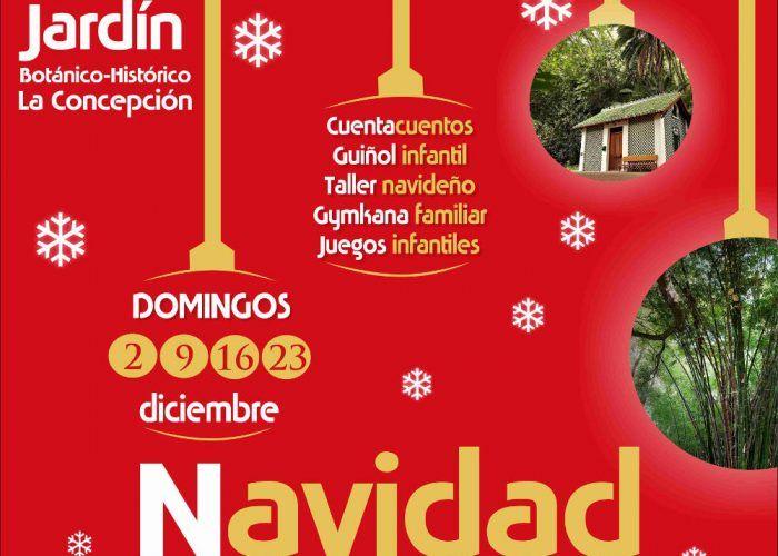 La Navidad Llega Al Jardin Botanico La Concepcion De Malaga Con