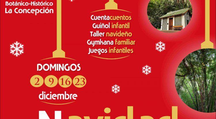 La Navidad llega al Jardín Botánico La Concepción de Málaga con actividades para toda la familia