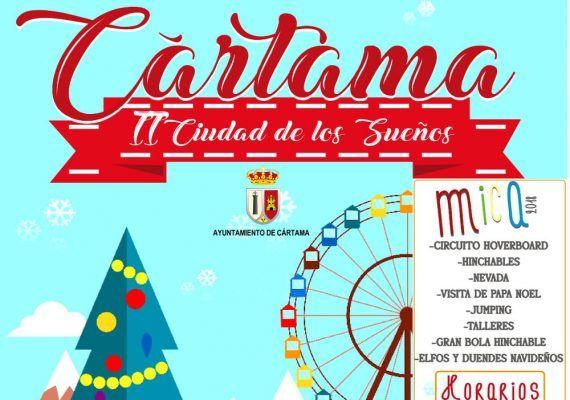Navidad en Cártama con muchas actividades infantiles y familiares gratis