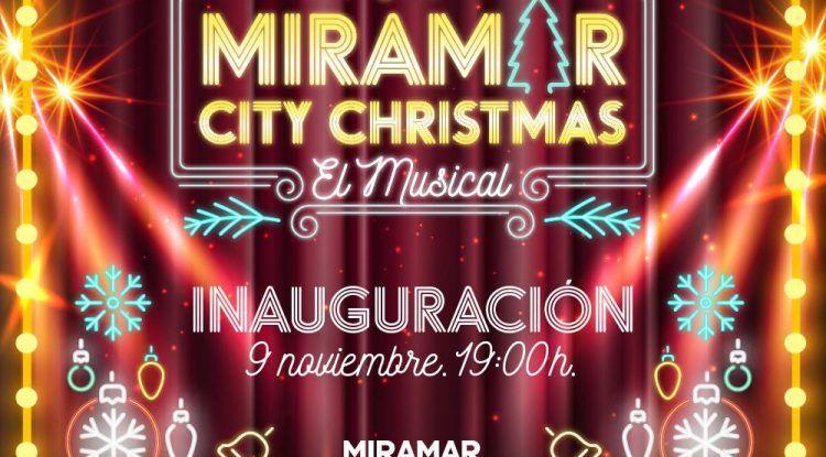 Encendido de Navidad y visita de Papá Noel en el CC Miramar de Fuengirola