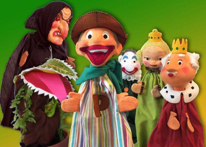 Teatro de marionetas para niños con Peneque en el teatro Echegaray de Málaga