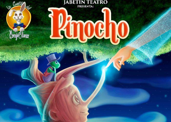 Sorteo de 10 entradas individuales para el musical infantil de Pinocho en Málaga