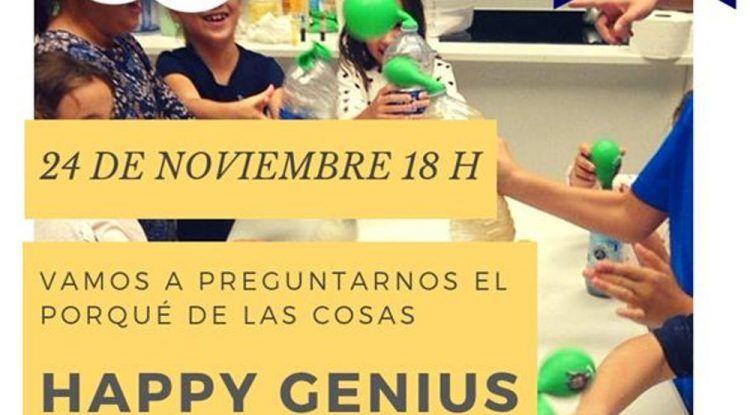 Taller de ciencia para niños en el Club Happy Málaga