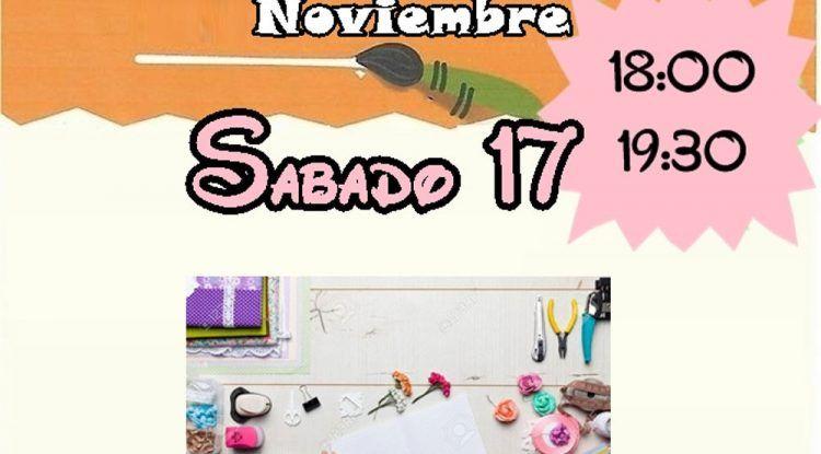 Taller de scrapbooking gratis para niños en El Corte Inglés de Mijas este sábado