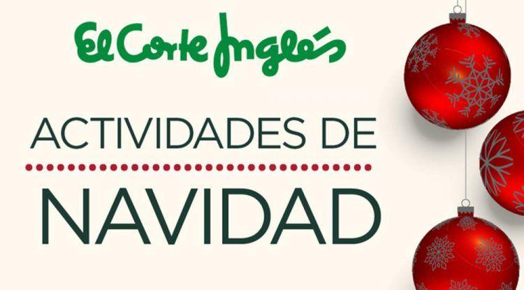 Navidad para niños en El Corte Inglés de Marbella con actividades gratis
