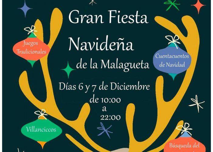 Fiesta De Navidad Con Actividades Para Ninos En La Malagueta Malaga