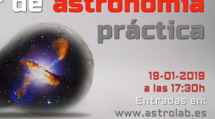 Taller de astronomía y observaciones en familia con Astrolab (Yunquera) en enero 2019