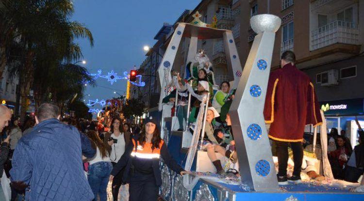 Cabalgata de Reyes Magos en Rincón de la Victoria (Málaga)