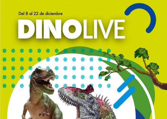 Exposición de dinosaurios gratis en el CC Rincón de la Victoria
