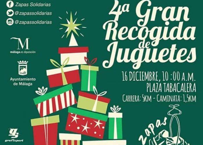 Fiesta infantil con la Legión 501 y recogida de juguetes en Málaga