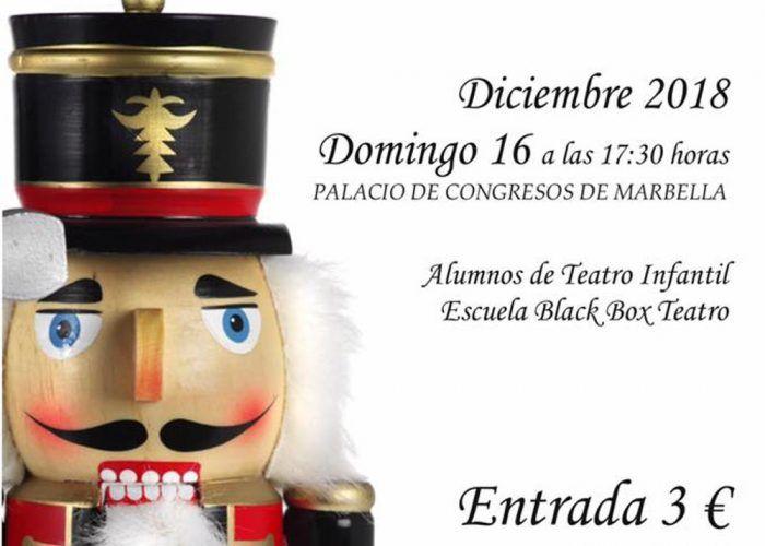 Teatro para niños de El Cascanueces en Marbella a beneficio de Avoi