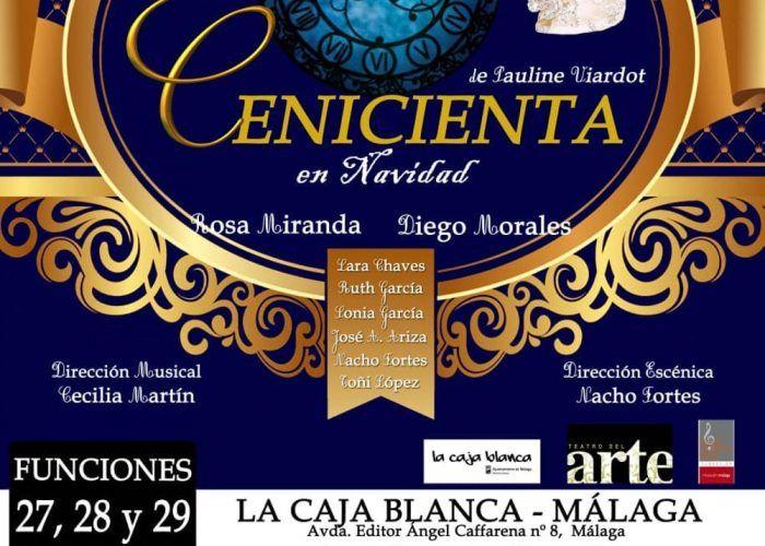 Ópera y teatro en familia en La Caja Blanca de Málaga esta Navidad