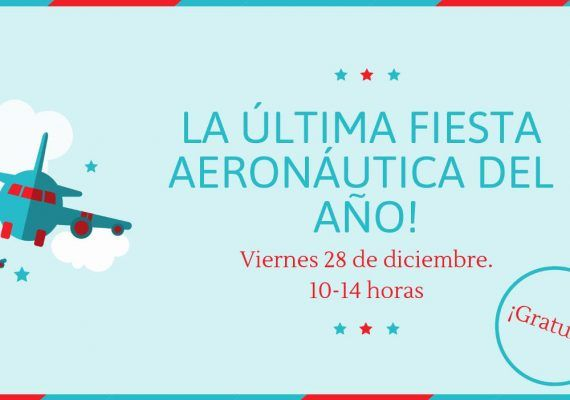 Actividades gratis para niños esta Navidad en el Museo Aeronáutico de Málaga