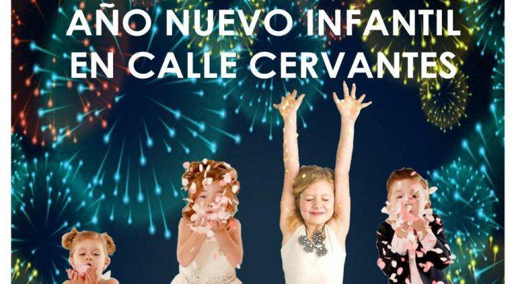 Fiesta de fin de año gratis para niños en Málaga