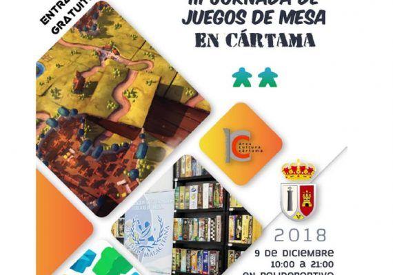Jornada gratis de juegos de mesa para toda la familia en Cártama