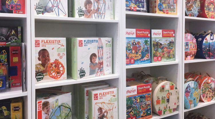 Regala en Navidad juguetes creativos para niños de todas las edades con Mahatma Showroom Málaga