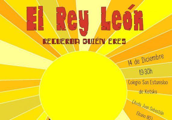 Musical solidario de El Rey León para toda la familia en el colegio San Estanislao Málaga