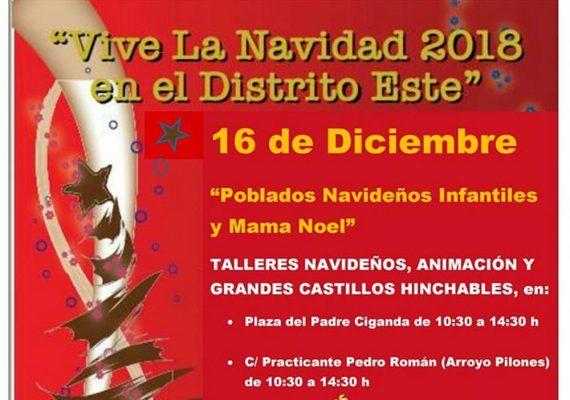 Teatro infantil gratis y animación de Navidad en el distrito Este de Málaga