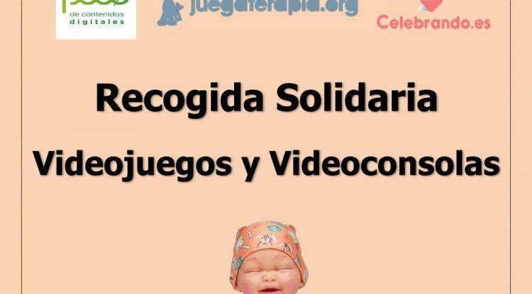 Recogida solidaria de videojuegos y consolas en Málaga
