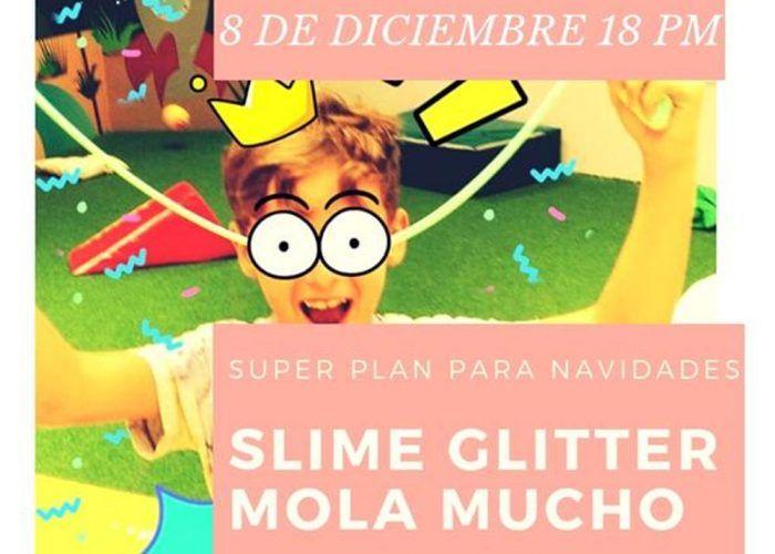 Taller de slime para niños en el Club Happy Málaga este sábado