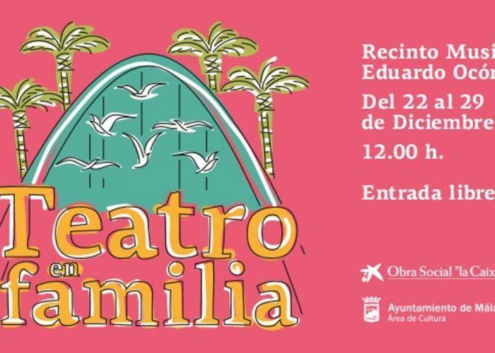 Teatro en familia gratis en Málaga estas Navidades