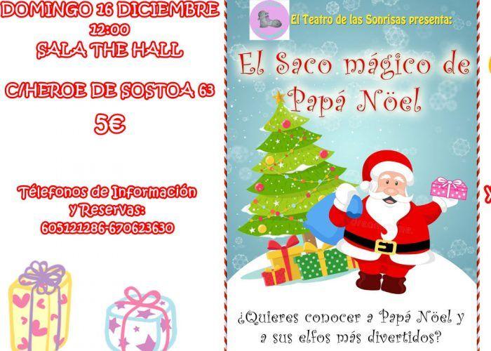 Teatro de Navidad para niños 'El saco mágico de Papá Noel' en Málaga