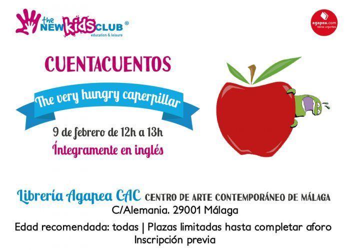 Cuentacuentos en inglés gratis para niños en Málaga con The New Kids Club