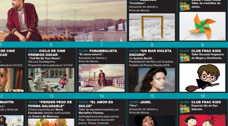 Talleres para peques en febrero con Fnac Málaga