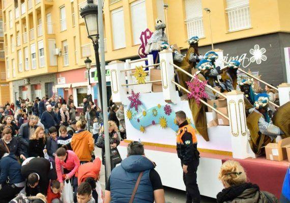 Cabalgata de Reyes Magos en Manilva 2019