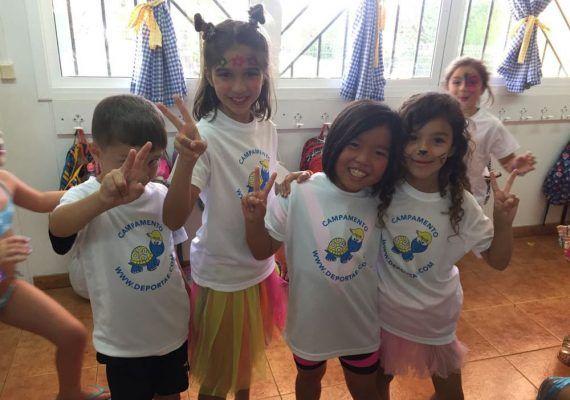 Campamentos infantiles de Deportae para Semana Blanca en Málaga, La Cala del Moral y Casabermeja