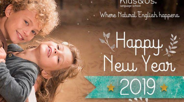 Año nuevo, método de aprendizaje de inglés para niños nuevo