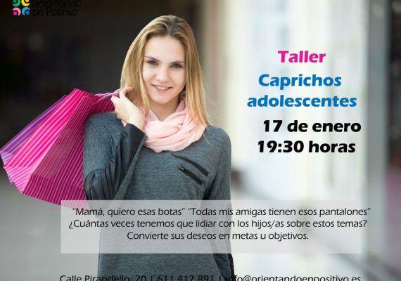 Los caprichos, la seguridad en Internet y la paga, próximos talleres para madres y padres de Orientando en Positivo (Málaga)