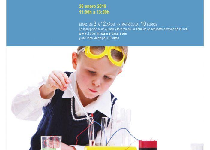 Curso infantil Ciencia con experimentos locos en Alhaurín de la Torre