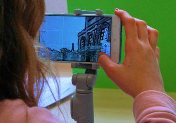 Campamento infantil de Semana Blanca sobre cine en La Térmica de Málaga