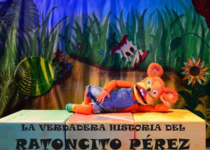 Teatro infantil del Ratoncito Pérez en La Cochera Cabaret de Málaga este domingo