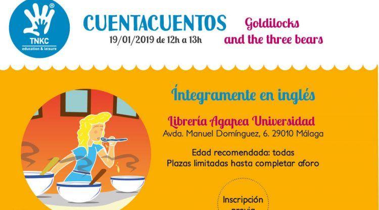 Cuentacuentos en inglés gratis para niños con The New Kids Club en Málaga
