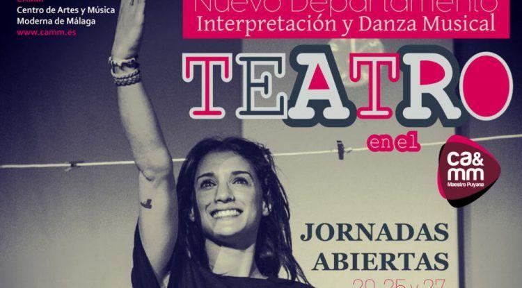 Jornada de puertas abiertas de teatro y danza para niños y adolescentes en el CAMM de Málaga