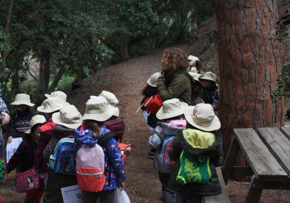 Campamento infantil de Semana Blanca en el Jardín Botánico-Histórico La Concepción en Málaga