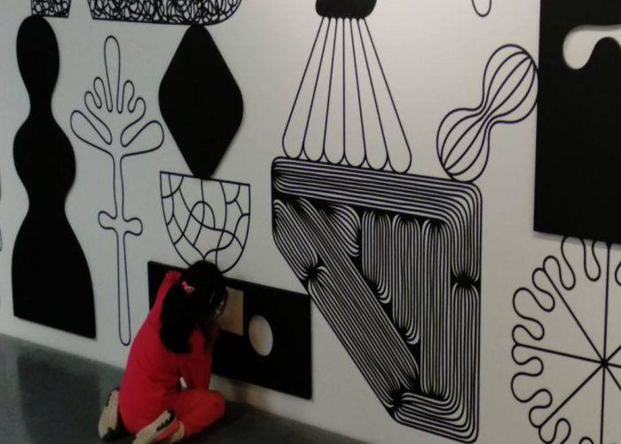 Talleres durante Semana Blanca gratis para toda la familia en el Centre Pompidou de Málaga