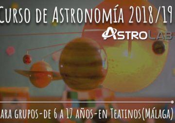 Consigue una clase gratis para tu peque de astronomía por ser lector de La Diversiva