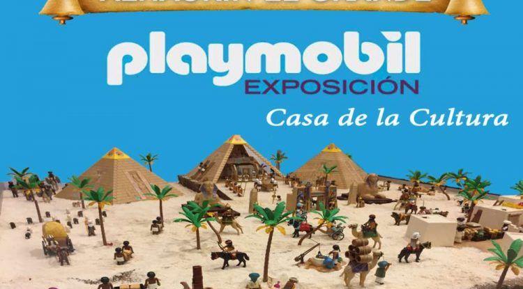 Exposición de clicks de Playmobil gratis para toda la familia sobre diferentes épocas de la historia en Alhaurín el Grande