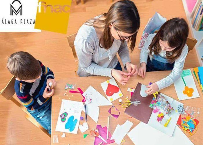 Arte, ciencia y escritura infantiles en los talleres gratuitos de Fnac Málaga en marzo