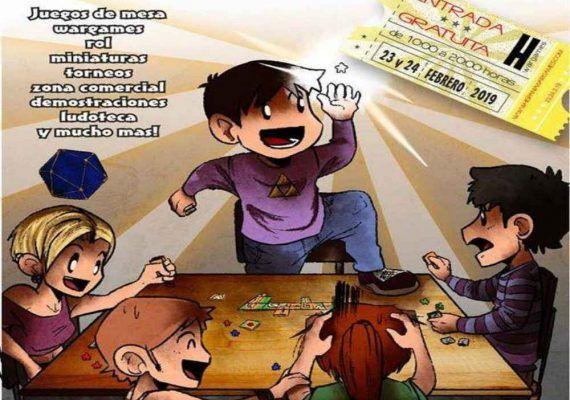 Vuelven las Hispania Wargames, jornadas gratuitas de juegos de mesa, rol o miniaturas para pequeños y mayores en Alhaurín de la Torre