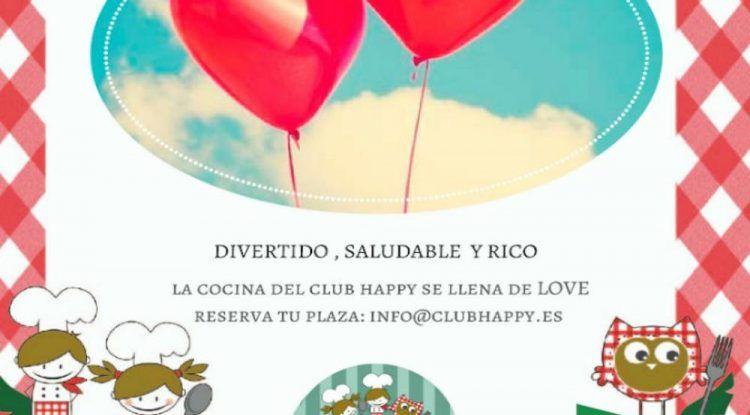 Taller de cocina para peques en el Club Happy Málaga