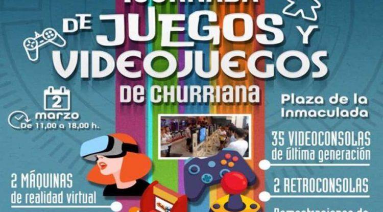 Jornada de videojuegos gratis para toda la familia en Churriana