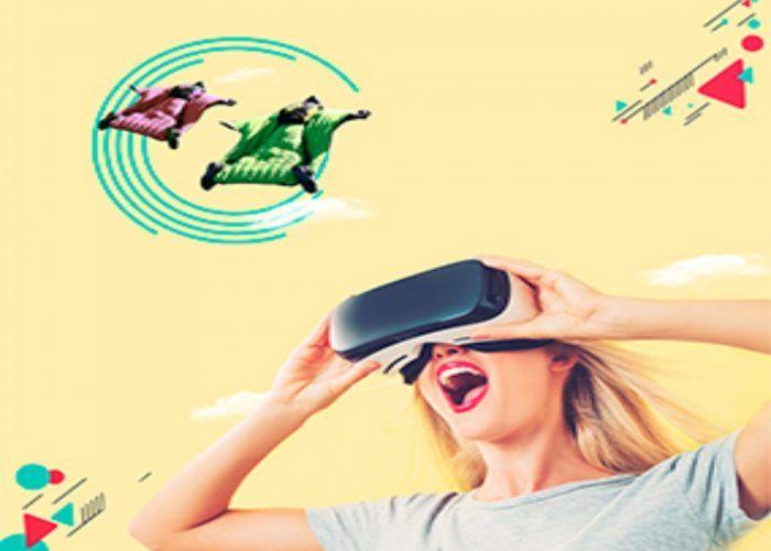 Simulador de realidad virtual para niños durante Semana Blanca en Larios Centro de Málaga