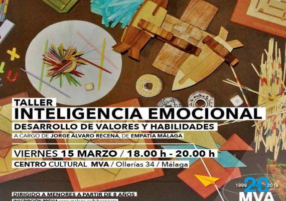 Taller infantil sobre inteligencia emocional gratis en Málaga