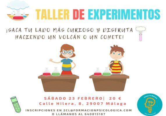 Ciencia, arte y yoga para niños en los talleres de marzo del Centro Te Motivan Málaga